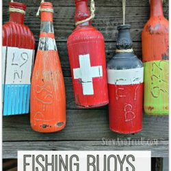 Fishing buoys made from bottles - StowAndTellU.com