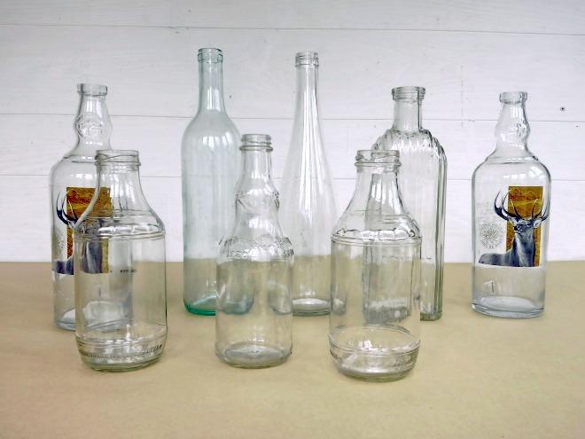 diy painted lobster-fishing buoy bottles - StowAndTellU.com