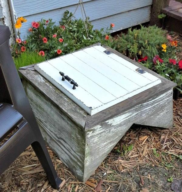 10 Best Crafty reused items - weathervane cupola garden table   StownadTellU.com