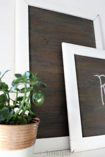 faux-woodgrain-chalkboard-paint-technique | stowandtellu