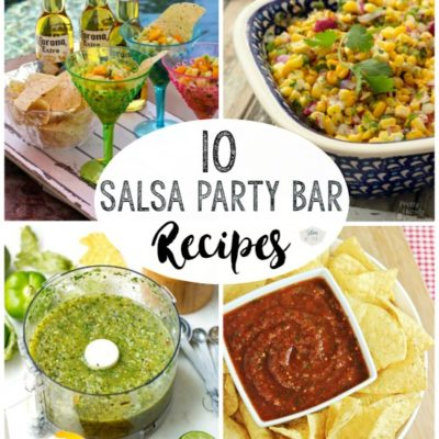 10 Homemade Salsa Party Bar Recipes