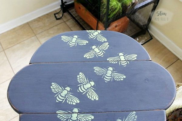 swarming-honey-bee-stencil