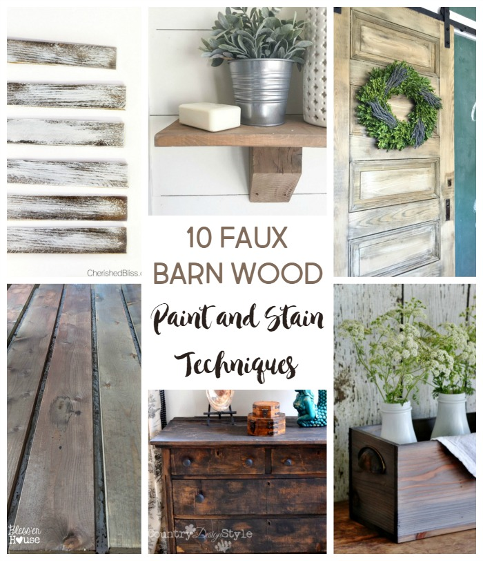 10 faux barn wood weathering techniques stow tellu