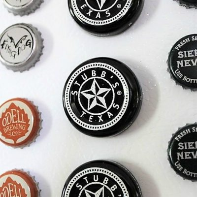 Our Favorite BBQ Sauce and How to Make Bottle Cap Magnets