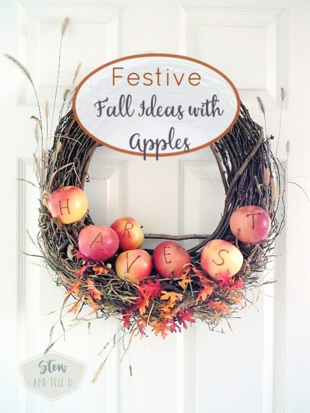 Festive fall ideas with apples for fall party decor, games, bonfires, Halloween, Thanks giving and other festivities | StowandTellU.com