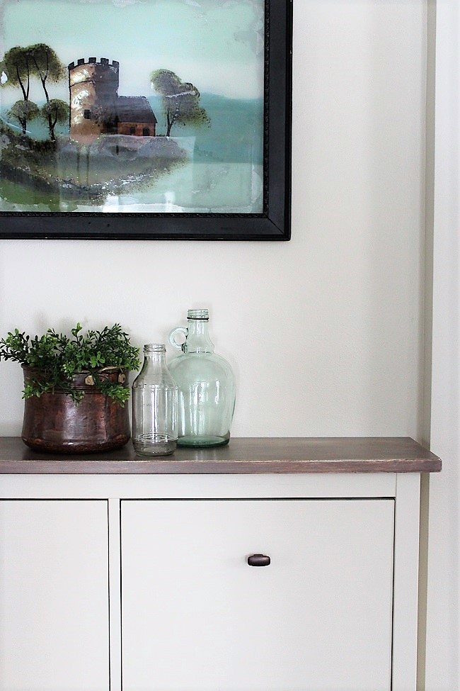 Ikea Hack | Faux built-in hallway storage | stowandtellu.com