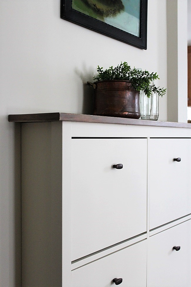 Ikea-Cabinet fake built-in look | stowandtellu.com
