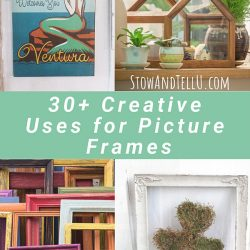Recycled Picture Frame Craft Ideas