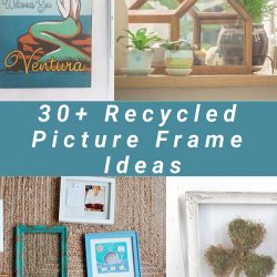 Recycled Picture Frames Ideas