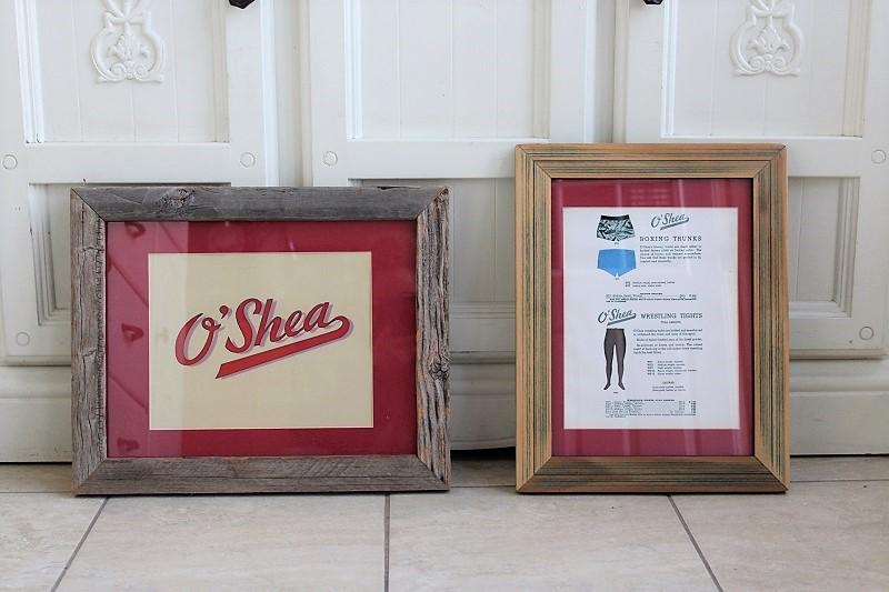 reuse old picture frames for new artwork | O'Shea-art-orig