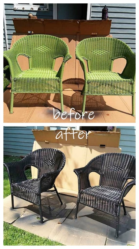 Surprising How To Spray Paint Resin Wicker Chairs If You Dare Ibusinesslaw Wood Chair Design Ideas Ibusinesslaworg