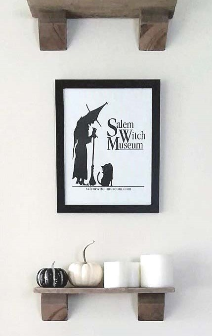Salem Witch Museum and Framing Souvenir Gift Bag Art | Stowandtellu.com
