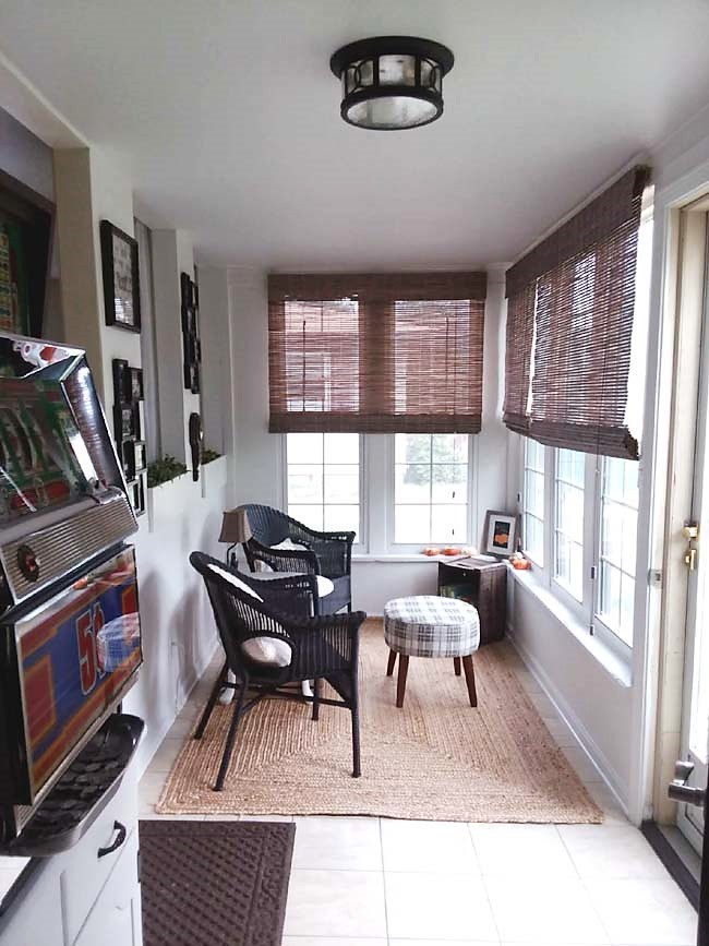 Small Sun Room Sitting Area Makeover Reveal   stowandtellu.com