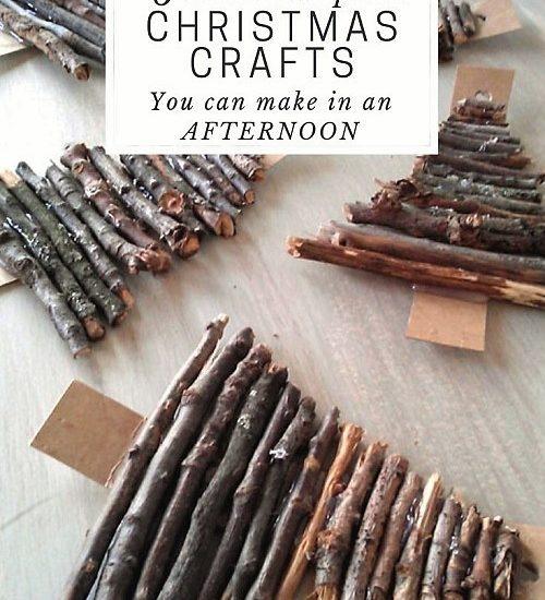 6 Nature Inspired Christmas Craft Ideas