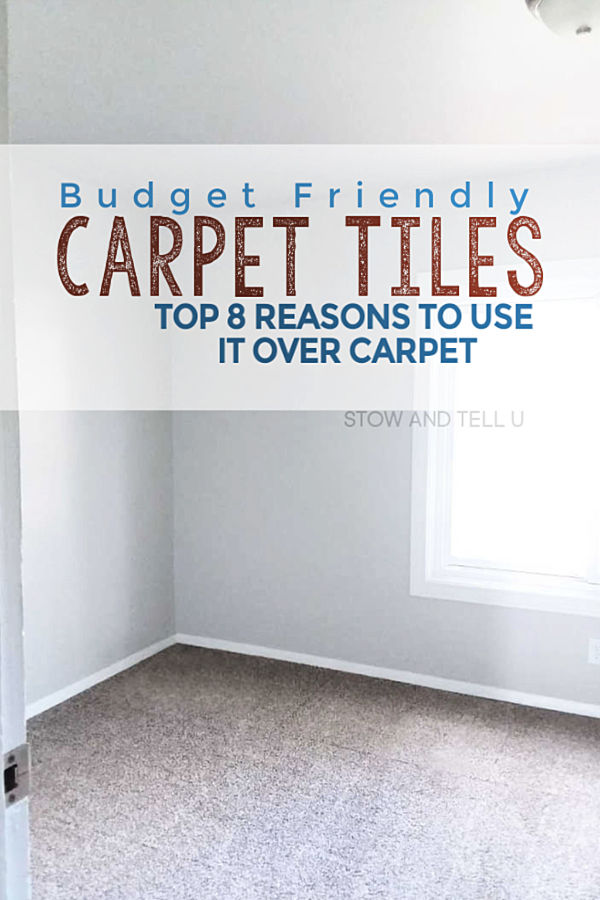 Budget Friendly Carpet Tiles: Top 8 Reasons to use over regular carpet