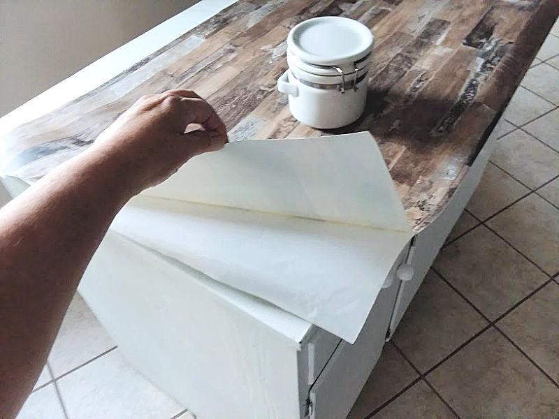 Cover Countertop Peel Stick Wallpaper