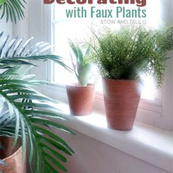 8 ideas decorating faux plants
