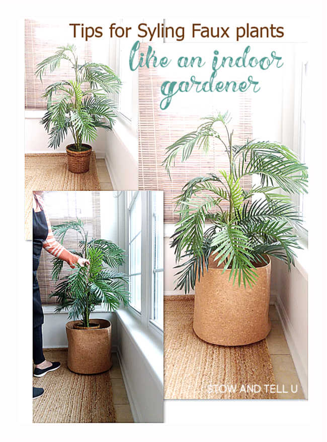 Tips for Styling Faux Plants