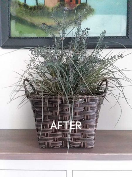Update the planter | Tips for Decorating with Artificial Plants