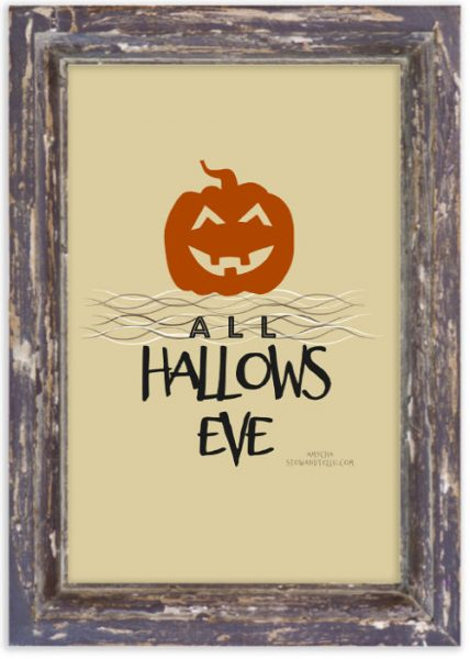 All-Hallows-Eve-Jack-o-Lantern-Printablee