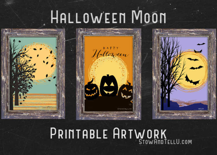 Halloween-Full-Moon-Art-Printables