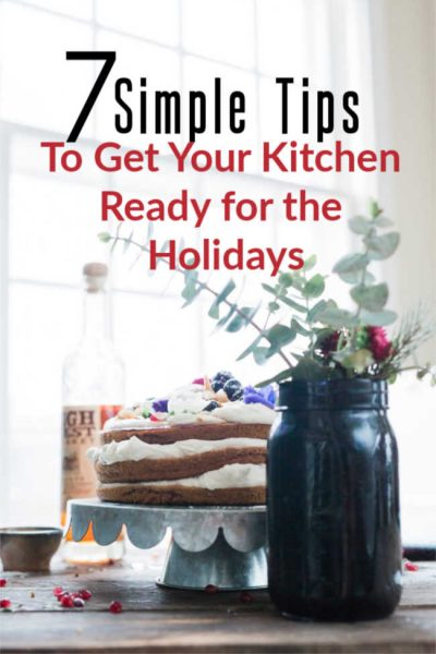 How to declutter your kitchen for the holidays