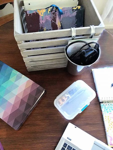 Dining Table Office Organizer Essentials