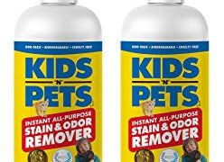 KIDS 'N' PETS – Instant All-Purpose Stain & Odor Remover – 27.05 oz - (800 ml) – Proprietary Formula Permanently Eliminates Tough Stains & Odors – Even Urine Odors – Non-Toxic & Child Safe