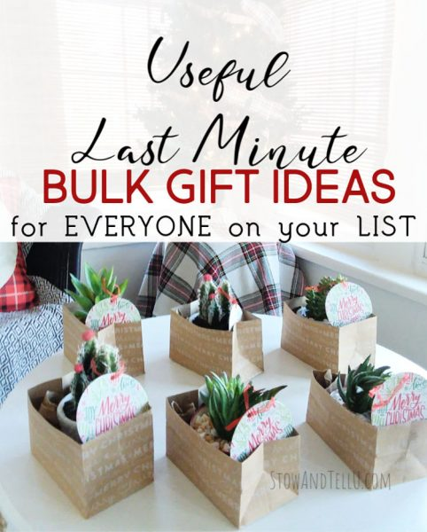 27 Useful Last Minute Bulk Gift Ideas for Everyone on the list
