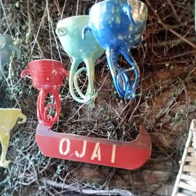 Creative Garden Decor Galore Spotted in Downtown Ojai