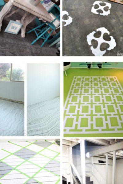 7 Creative Painted Flooring Ideas
