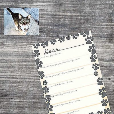 Goodbye Letter to Pet Free Printable