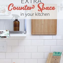 Extra Kitchen Counter Space