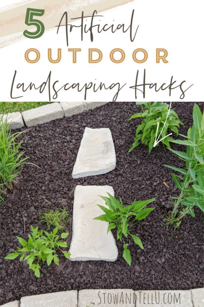 5 Artificial Outdoor Landscaping Hacks for curb appeal