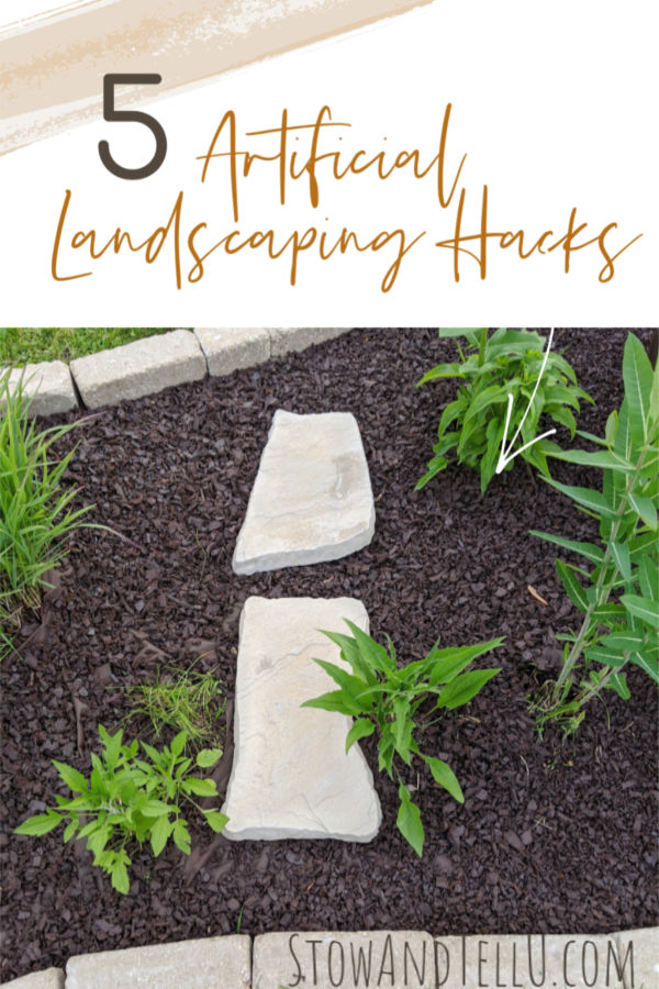 5 Artificial Outdoor Landscaping Hacks
