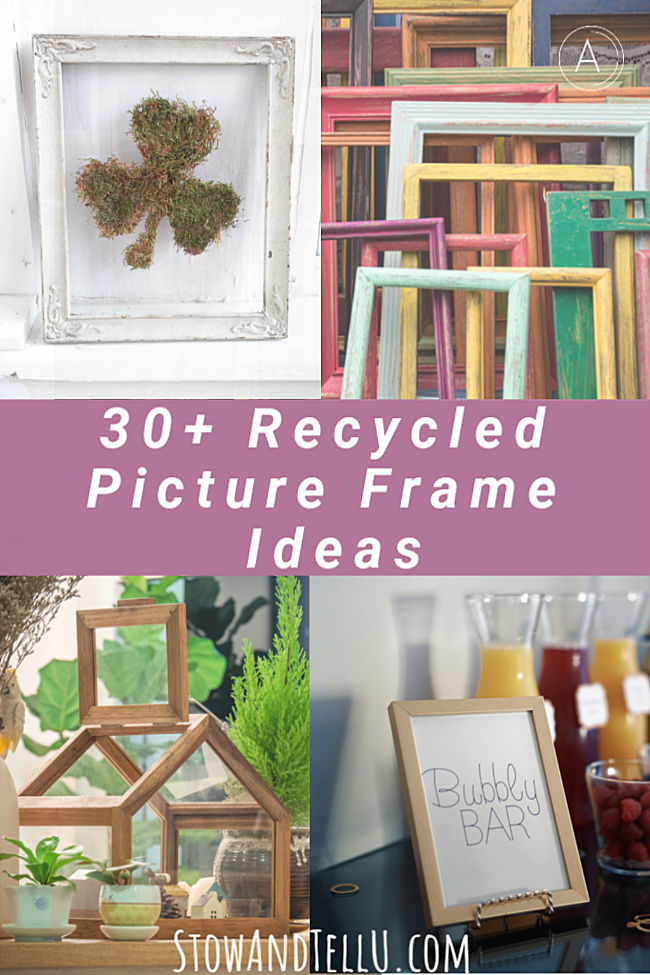 30 Recycled Picture Frames Ideas for the Home