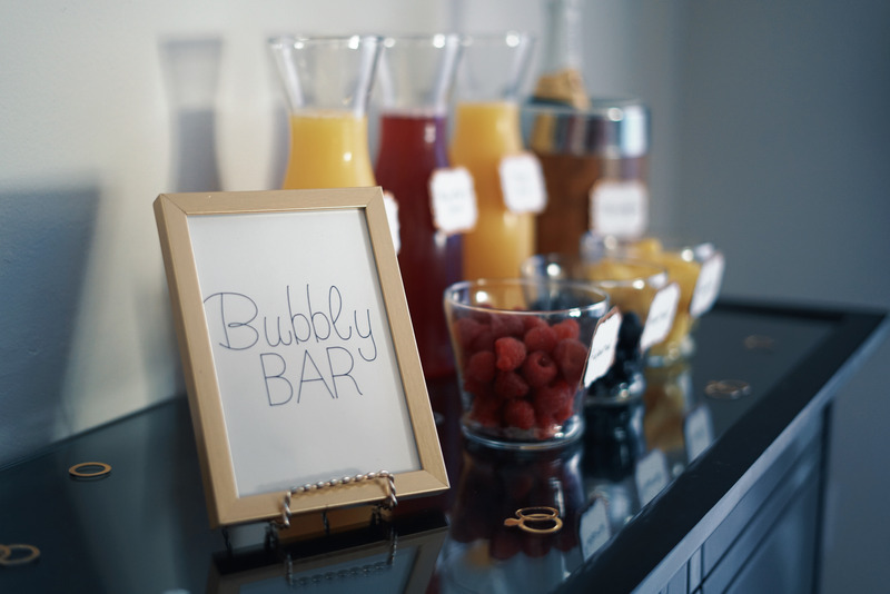 Wood framed printable on Juice Bar