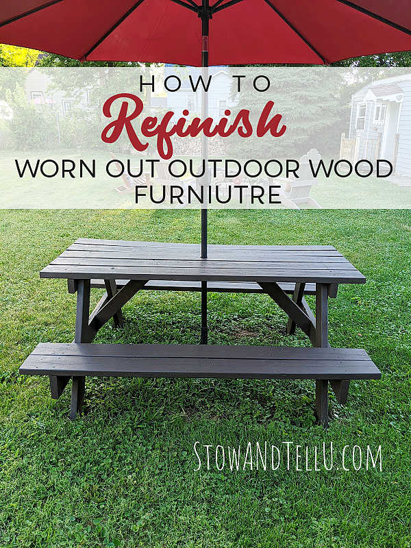 How to Restore Worn-Out Outdoor Wood Furniture