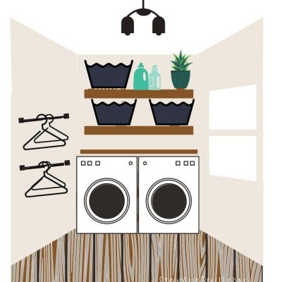 New Small Laundry Room Layout Plan and Mood Board