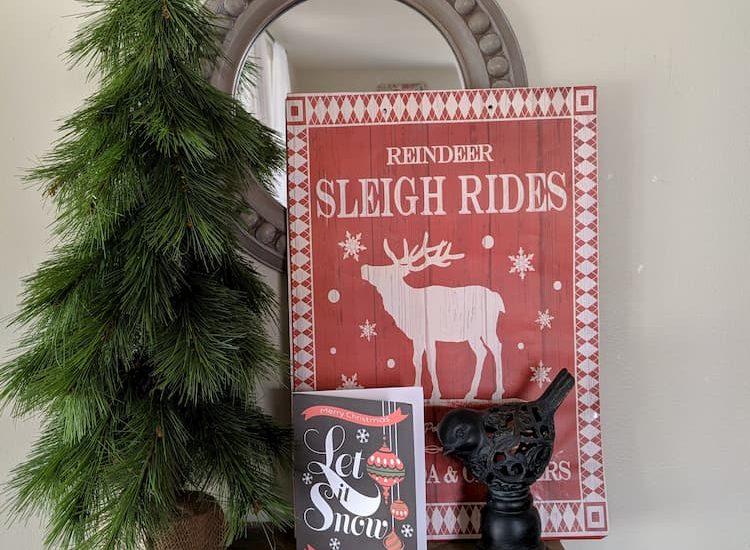 Make-diy-Christmas-signs using gift bags