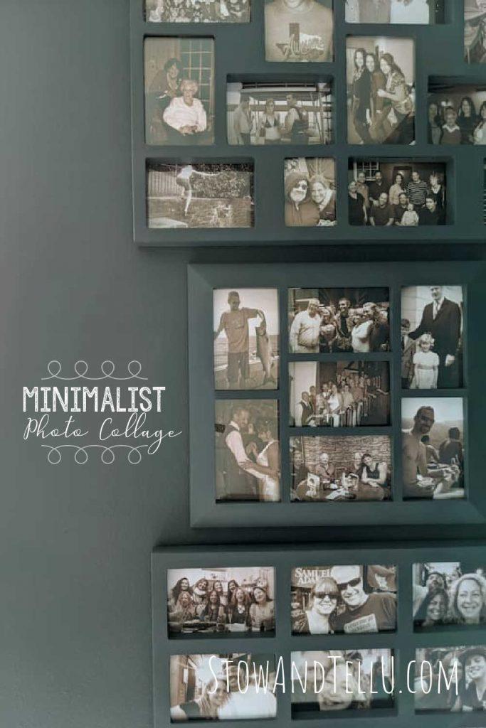DIY Minimalist Art Photo Collage