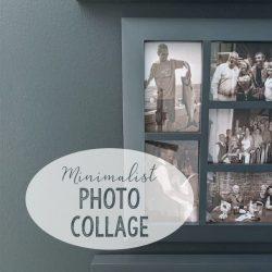 Minimalist Art Photo Collage