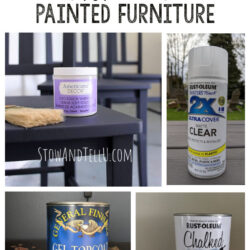 5 Amazing Top Coat Sealer Options for Painted Furniture