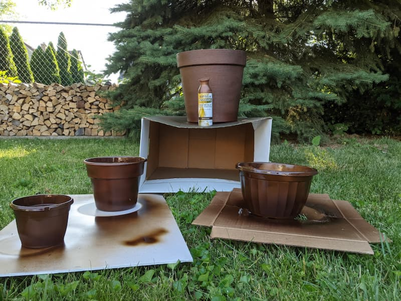 plastic platers, copper-rust spray paint