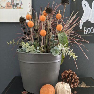 How To Make Wood Bead Pumpkin Stems